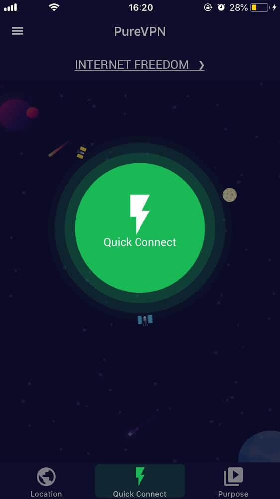 purevpn iOS