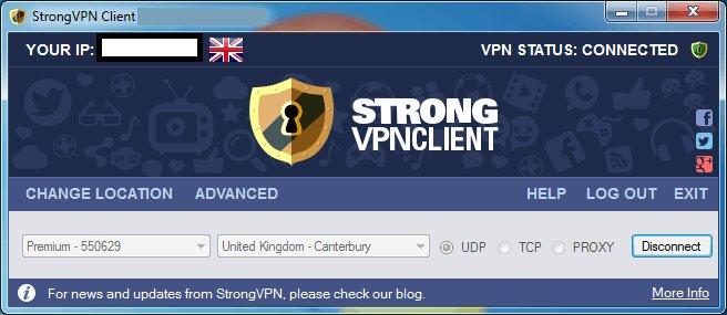Strong VPN