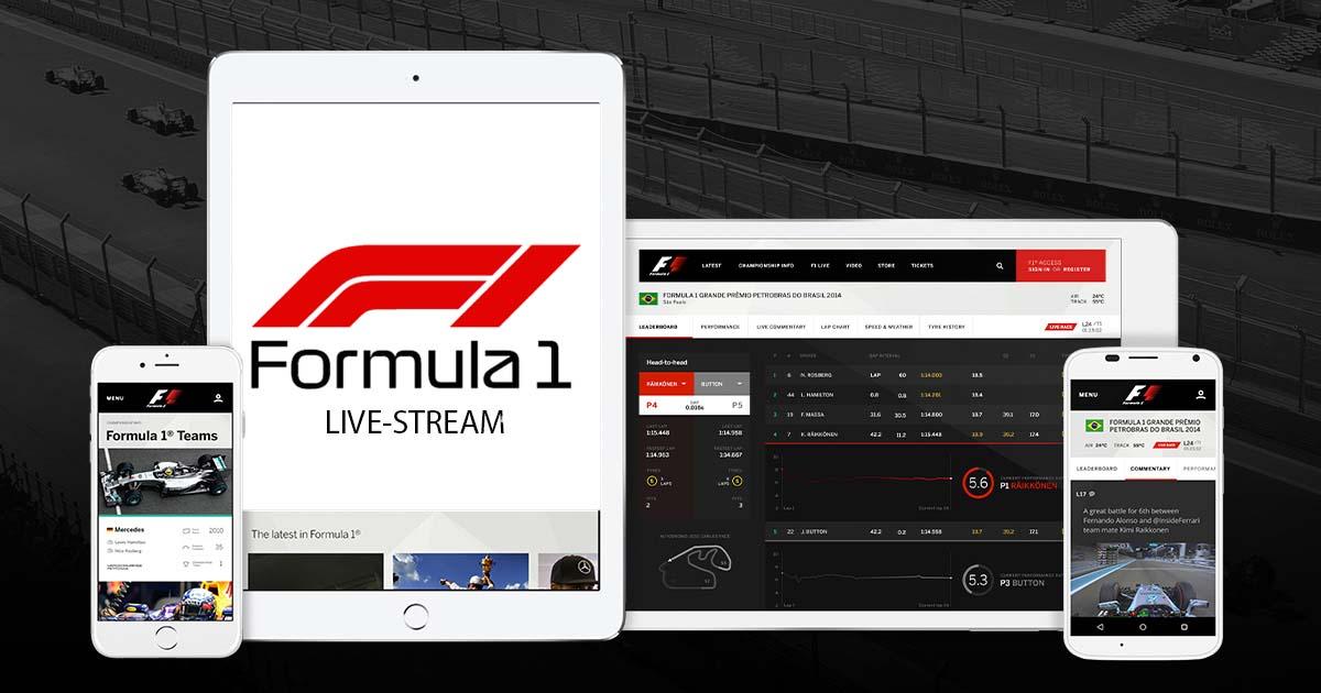 Formel 1 Livestream