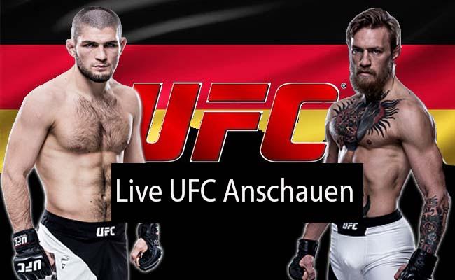 Ufc Live Stream Deutschland
