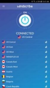 Windscribe VPN für Android