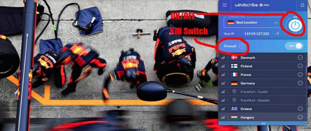 windscribe Kill Switch