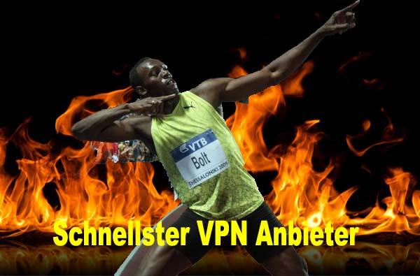 Schnellster VPN Anbieter