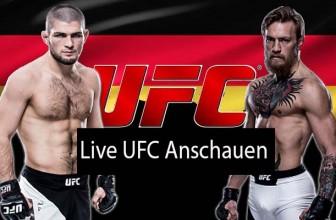 UFC Live Stream I MMA vom Feinsten (Samstag 15 Oktober, 2018)