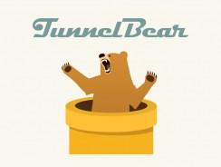 TunnelBear VPN Anbieter | Einfaches Interface