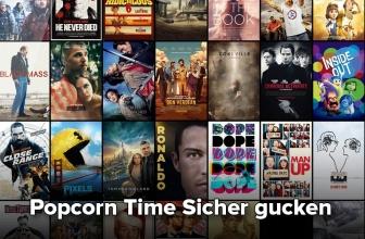 Sichere Popcorn Stream: So kannst du sicher Filme streamen!